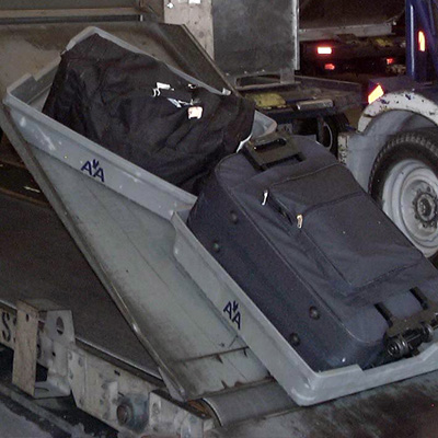 Airline Baggage Conveyer Bin