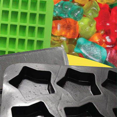 Candy, Chocolate and Caramel Moulds